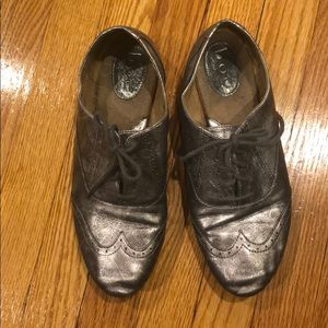 b.o.c.  Concept silver matte vintage look loafers